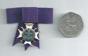 ladies miniature medal